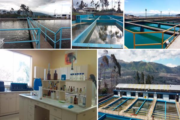 Arca realiza actividades de control a la empresa p blica for Agua potable quito
